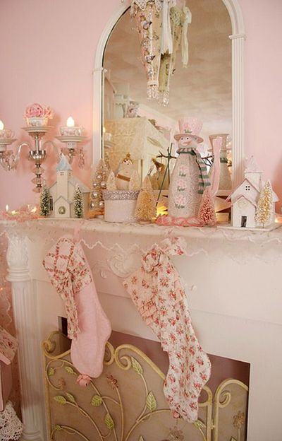 shabby chic mantel decorations ideas juxtapost