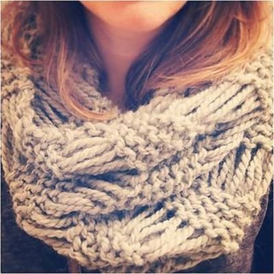 Knitted Drop Stitch Cowl Pattern : drop stitch cowl scarf knit pattern ravelry / knits and kits - Juxtapost