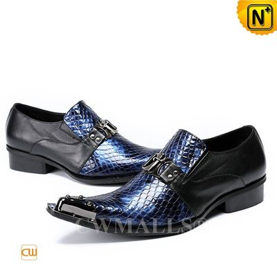 Father's Day Gifts | CWMALLS® Dublin Men Embossed Dress Shoes CW708203[Patented Design, Custom Made]