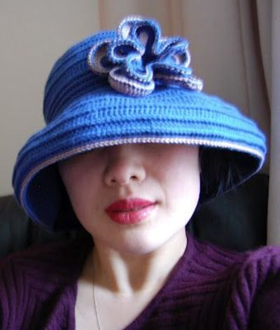 Free Pattern Crochet Wide Brim Hat : Free pattern for
