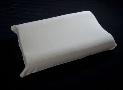 The Organic Mattress Store Inc is offering contour pillows for neck with soft to medium support.