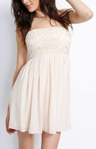 Ivory Take Me to the Moon Dress