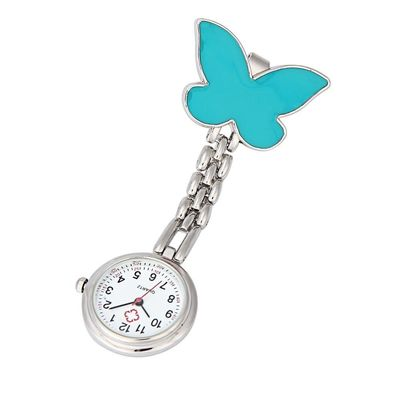 Price: $17.50 | Product: Clip-on Fob Brooch Pendant Hangingtterfly Watch Pocket Watch | Visit our online store https://ladiesgents.ca