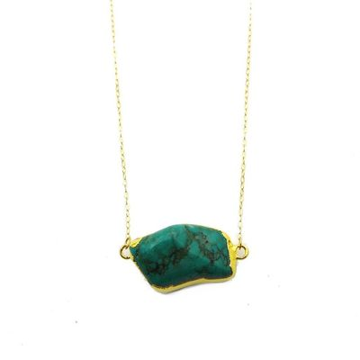 Raw Turquoise Necklace $59.00
