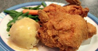 If you thought all food at Disney was overprocessed and nothing special, then you've never tried the Fried Chicken at 50's Prime Time Cafe at Hollywood Studios. Sooooo Good.