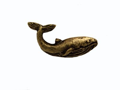 Buck Snort Lodge Decorative Hardware Cabinet Knobs and Pulls Whale $11.50
