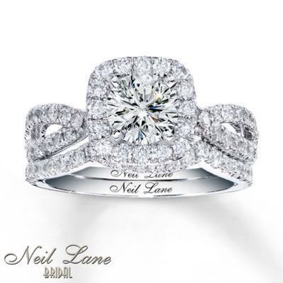 The one I tried on at Jared's!!!! Loved it! -Lexi Diamond Bridal Setting 1 ct tw Round-cut 14K White Gold