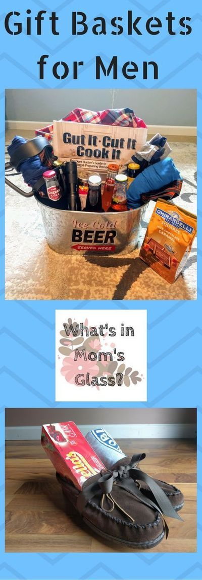 Gift Baskets for Men  Do you have a hard time shopping for the men in my life? Do you feel like they have everything they need? Get some great gift ideas from these baskets and surprise that guy in your life. Remember to make sure the �€œba...