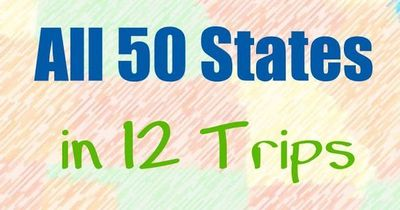 How To Visit All 50 States In 12 Trips This Free E Book