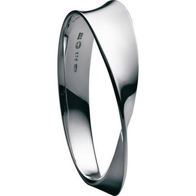 M�–BIUS Sterling Silver Bangle by georgjensen #Bracelet