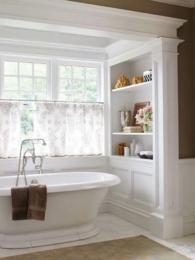 """An instant crowd pleaser...neutral, but with lots of great style. Easy to make it your own """"me time"""" space in no time at all.....then enjoy..ahhh!"""