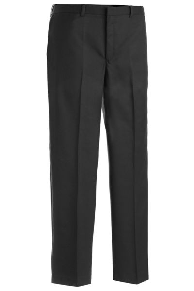 MEN'S MICROFIBER FLAT FRONT PANT Item 2574 Navy or Black $20.00