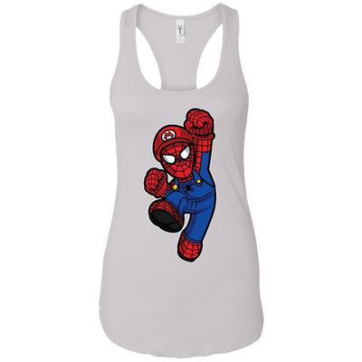 Spider Plumber - Movies Art - Women's Racerback Tank Top $9.97