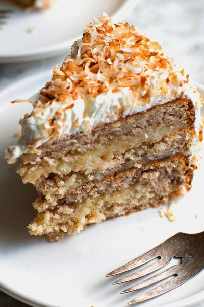 This is a rich, special-occasion cake that takes the traditional Southern coconut cake to another level, with ground toasted pecans in the batter and an easy-to