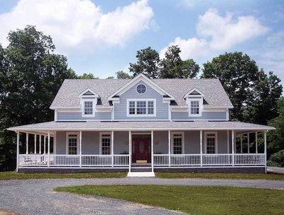 Porches and a Deck - 2064GA | Architectural Designs - House Plans