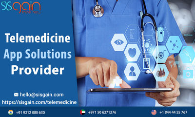 SISGAIN is famous Telemedicine apps development company in USA which assign best Telemedicine software programs for many medical organizations. Our developers & app designers are highly devoted on constructing cloud based telemedicine software. you ca...