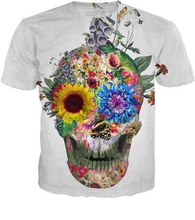 ROTS Skull - Punks Not Dead II Men's T-Shirt $25.00