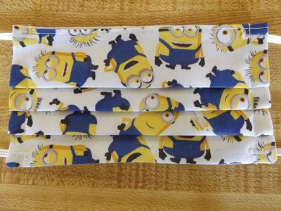 Minions Facemask $9.00