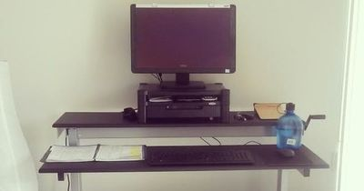 My standing desk set up and why I can't ever go back to a traditional desk.