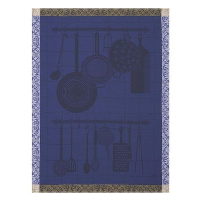 En Cuisine Purple Tea Towel Set of 4 by Le Jacquard Francais $96.00