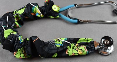 Stethoscope Cover - Teenage Mutant Ninja Turtles (Black Background) $7.99