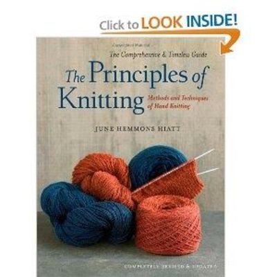 New edition of a classic. Everything a person could possibly want to know about knitting.