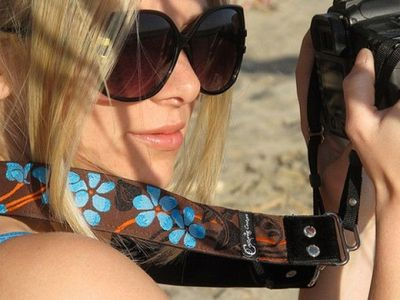 Stylish Camera Straps by Capturing Couture: Fashionable - Padded - Tapestry - Wristlets - SLR
