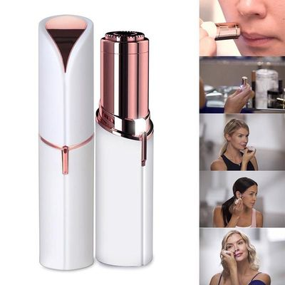 Lipstick Size Painless Mini Electric Epilator, Shaving and Hair Removal $18.49