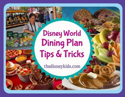 Adding a Disney Dining Plan turns your Walt Disney World trip into an all-inclusive vacation. #disneydining #disneyfood