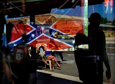 In a rural part of South Carolina, people seeking out new Confederate gear are mystified at the ire aimed at the rebel battle flag.