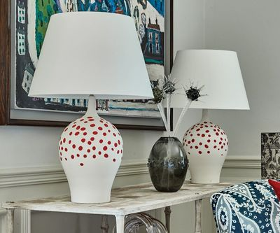 Angelica Rouge Table Lamp by William Yeoward $950.00