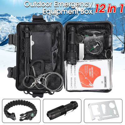 Multifunction SOS Emergency Camping Survival Equipment Kit Outdoor Tactical Hiking Gear Multi Tools