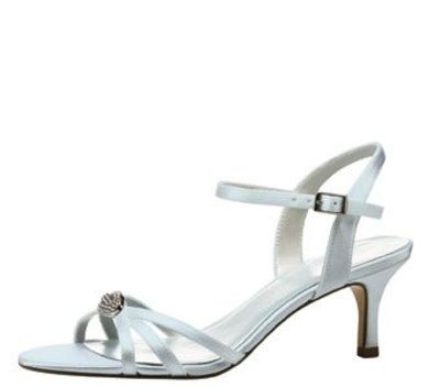 I really like shorter high heels like this one! I have a pair of white and a pair of black shoes that look like this.