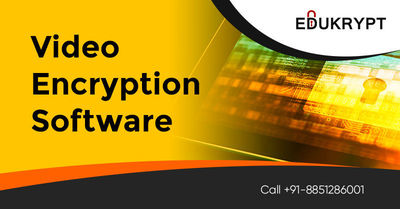 Get High Speed Video Encryption Software with advance video security, High Quality Output features which are specialized to encrypt, secure video files or lecture videos by the unauthorized hands. Know More Call: +91-885-128-6001 or Visit https://www.eduk...
