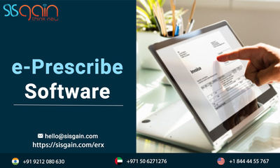 SISGAIN is providing one of the best eprescribing software in USA. We as a team also deliver erx software for eprescribing vendors all over world. Our app developers are highly dedicated to provide you better user experience in eprescribe software. Contac...