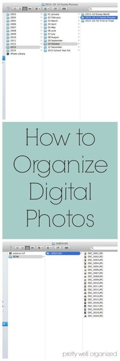 The Best Ways to Organize All Your Digital Photos