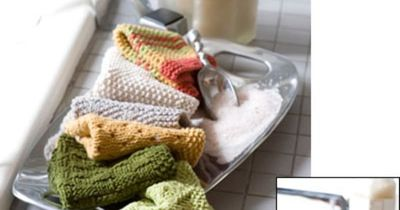 Knitting washclothes different patterns