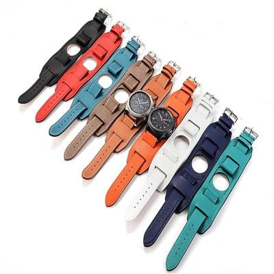 22MM/46MM Genuine Leather Band For Samsung Galaxy Watch Cuff Bracelet Replacement for Gear S3 $36.99