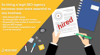 If you will be able to hire a reliable SEO firm. Don't hesitate to ask such questions to your prospective SEO agency as it will help you build a better foundation for your business - SEO Is Not a Cost but an Investment