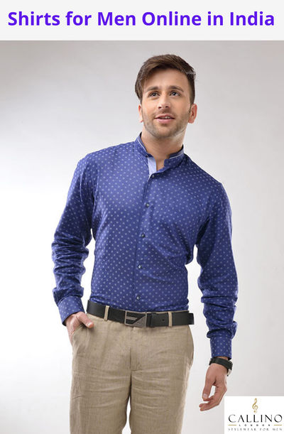 You searching for Shirts for Men Online. https://callinolondon.com/collections/shirts