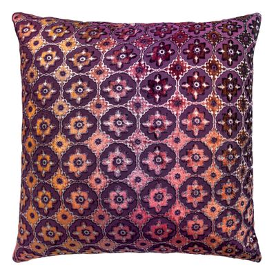 Small Moroccan Velvet Wildberry Pillows by Kevin O'Brien Studio $122.00