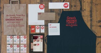 Gene's Sausage Shop Identity Design by Knoed Creative