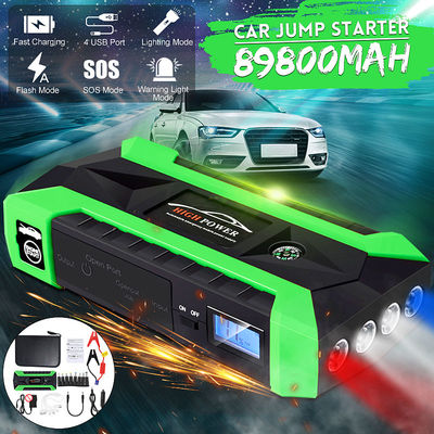 89800mah Vehicle Emergency Jumper Start Starting Power Jump Starter Emergency Power Bank Battery Charger