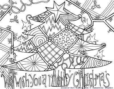 Lets Doodle Coloring Pages To Print