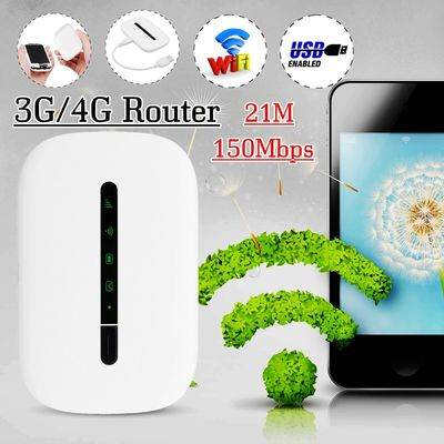 Portable Wifi 3G/4G Router LTE Wireless Mobile Wifi LTE/HSPA+/3G/EDGE/GPRS Networks