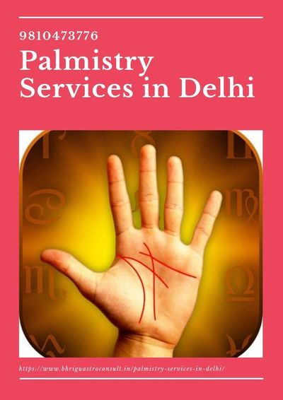 Palmistry Services in Delhi .jpg Palm reading is a great way to tell about your current life and future. We all want to know what will happen in the future. Palm Reading Line can learn about your future, health, business, marital life, family, etc. Palmi...