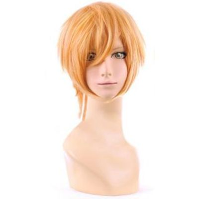 High Quality Vocaloid Flower of Corruption Len Short Cosplay Wig