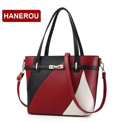 Women Leather Handbags Shoulder Bag Women's Casual Tote Bag $39.30