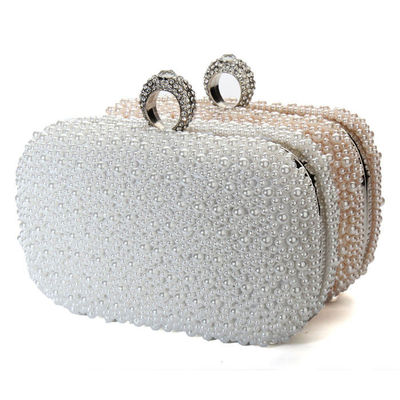 AEQUEEN 2017 Women Beaded Evening Clutch Bag