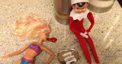 20 Pics Of The Elf On The Shelf Being Very Inappropriate